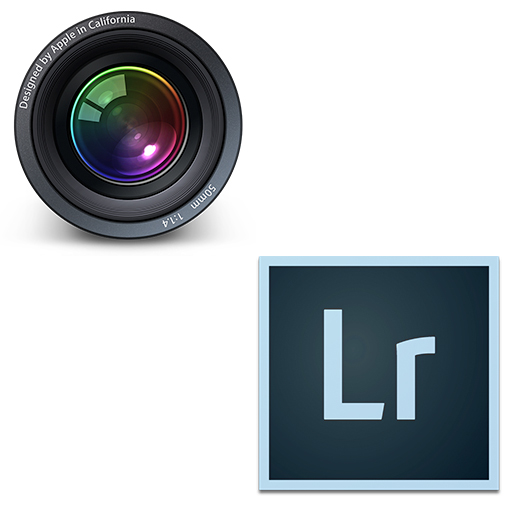 Aperture/Lightroomのアプリのアイコン